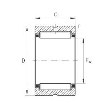 FAG Needle roller bearings - NK25/20-XL