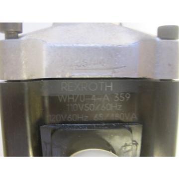 REXROTH WH70-4-A 359 VALVE REXROTH WH704A