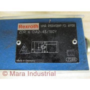 Rexroth Bosch R900410849 Valve ZDR 6 DA2-43/150Y -  No Box