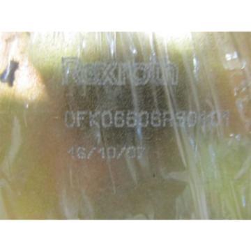 Rexroth 0FK06606RS0101 26 vdc Valve Block