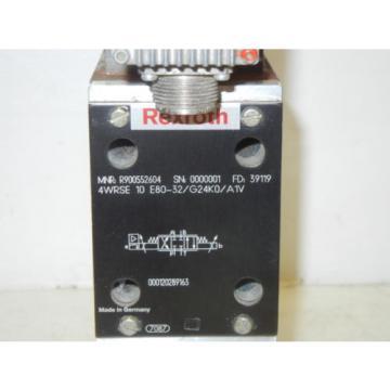 REXROTH 4WRSE 10 E80-32/G24K0/A1V USED PROPORTIONAL VALVE R900552604