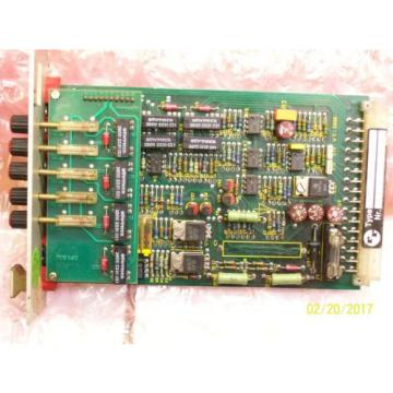 REXROTH PROPORTIONAL AMPLIFIER CARD BOARD VT-3017